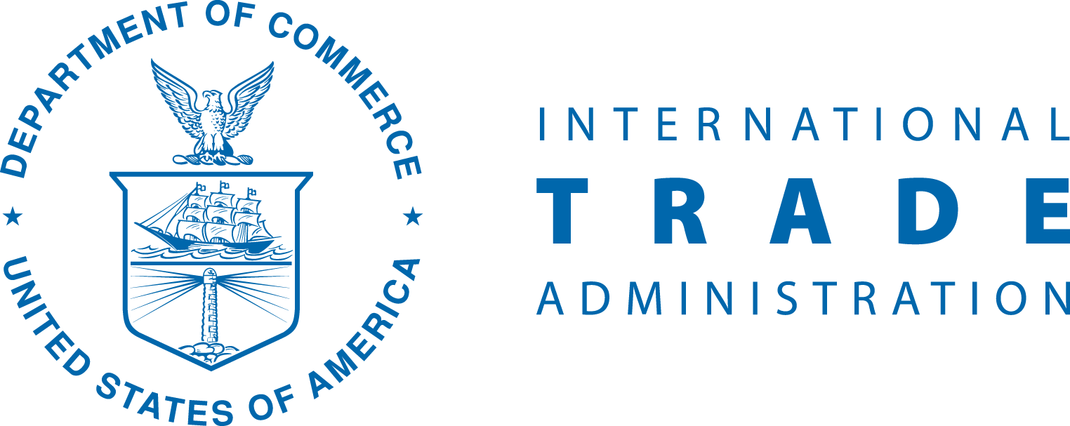 US Department of Commerce International Trade Administration Logo