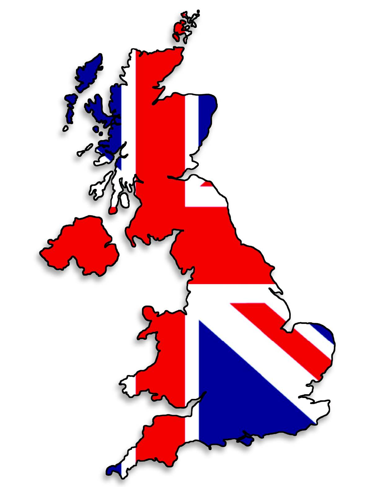 eCommerce Guide Logo with Union Jack and UK Map